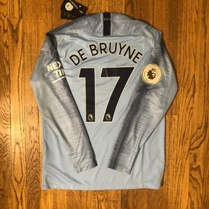 De Bruyne Manchester City Soccer Jersey